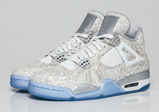 "The Air Jordan 4 ""Laser"" Releases Worldwide Tomorrow"