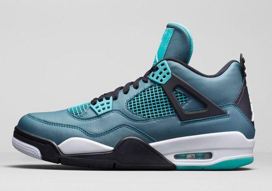 """Air Jordan 4 """"Teal"""" – Nikestore Release Info"""