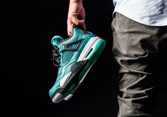 """Air Jordan 4 """"Teal"""" – Release Reminder"""