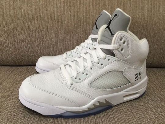 "Air Jordan 5 ""White/Metallic"" – Release Date"