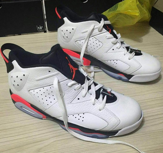 2015 air jordan 6 low infrared
