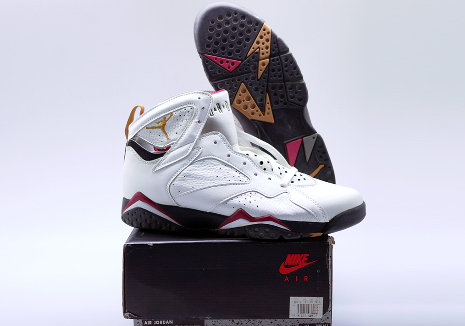 b21fd58f7c9 While the VII's design was kept minimal performance-wise, the aesthetic  design inspiration for the Air Jordan VII was the busiest yet in the Air  Jordan ...