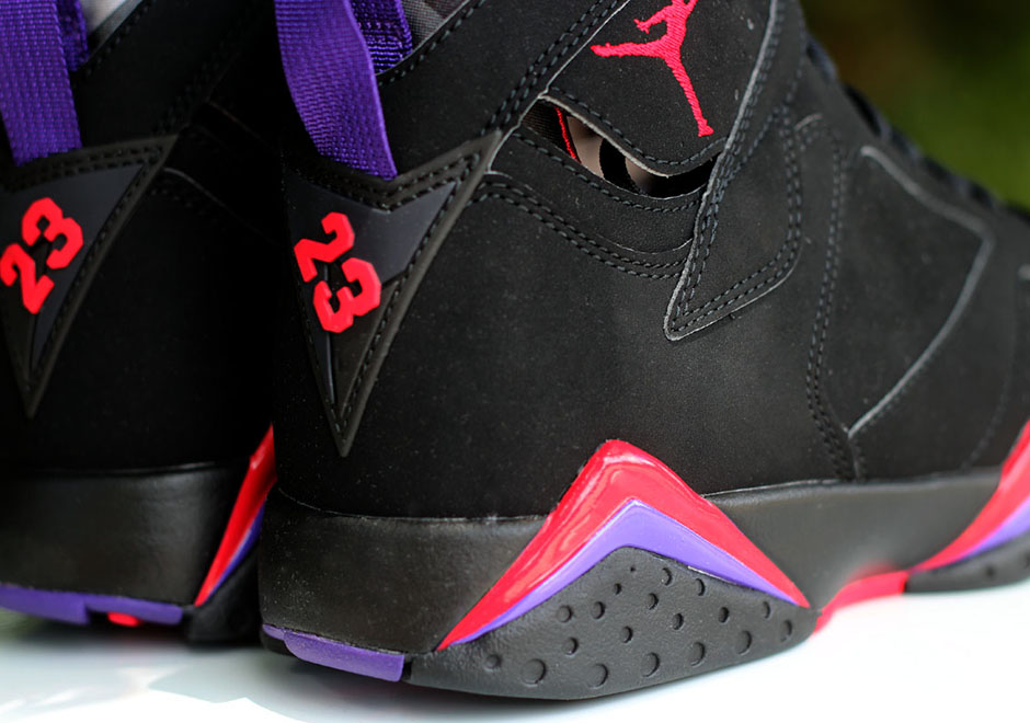 68c223b3039 The AJ7 was the first and only Air Jordan to receive a prominent Huarache  design, but the foot-hugging bootie would carry over to the XIII and IX.
