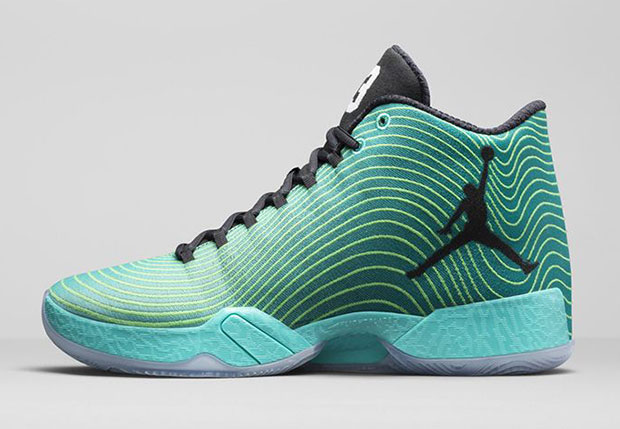 Air Jordan XX9 Retro/Light Green Spark/White/Black