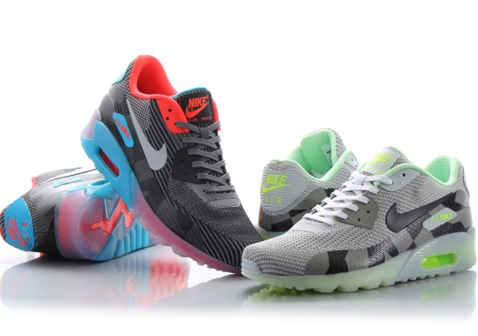 buy popular 837e2 915d7 Nike Air Max 90 Brings Back ICE With Graphic Prints