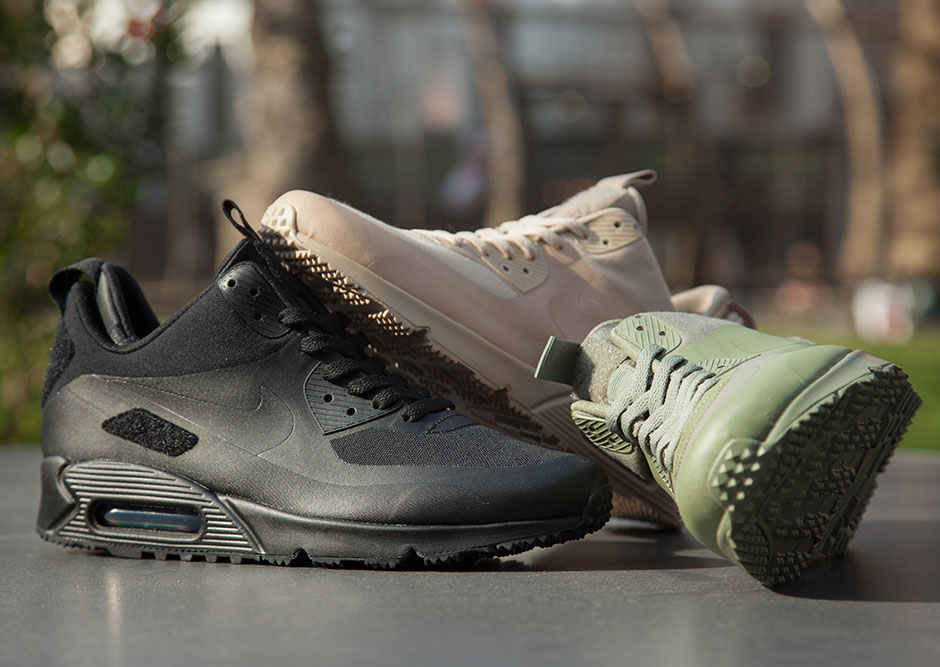 "Nike Air Max 90 Sneakerboot ""Patch"" Collection Releases Tomorrow"