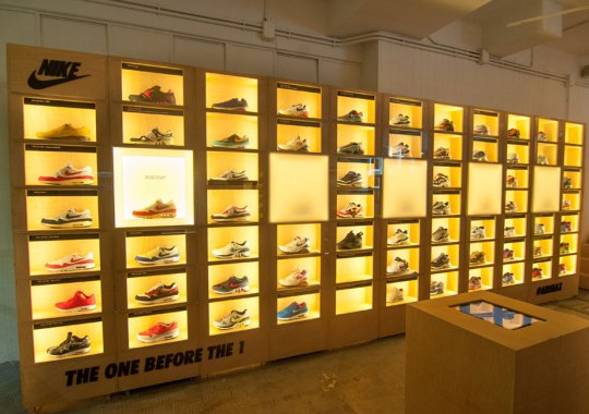 Check Out This Awesome Nike Air Max Wall Display