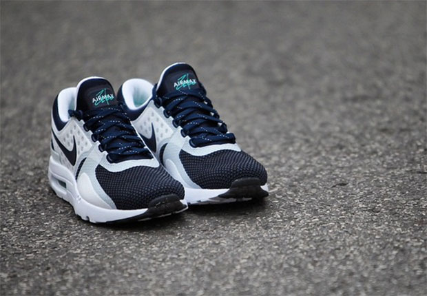 Nike Air Max Zero Color  White Rift Blue-Hyper Jade-Midnight Navy Style  Code  789695-104. Release Date  March 26 c34e85fa7