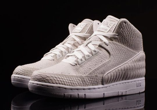 An Albino Colorway of the Nike Air Python