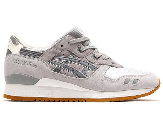 asics sneakers zilver