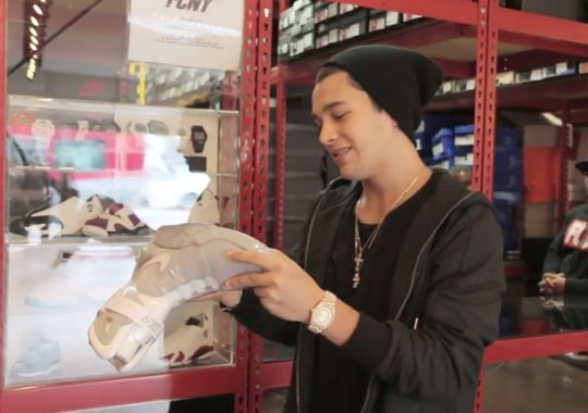 This YMCMB Artist Paid $7,000 For Nike Mags at Flight Club New York