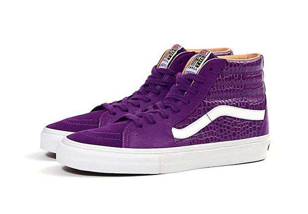 Vans Purple High Tops