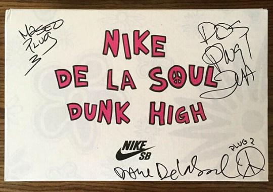 Help De La Soul on Kickstarter and You Can Get Autographed De La Soul Dunks
