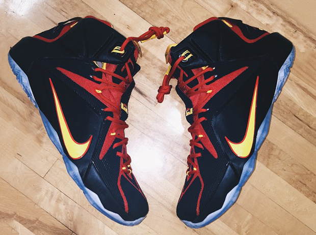 b7907b6cd5fe cheap fairfax h.s. gets another nike lebron 12 pe sneakernews 7875c fadf1
