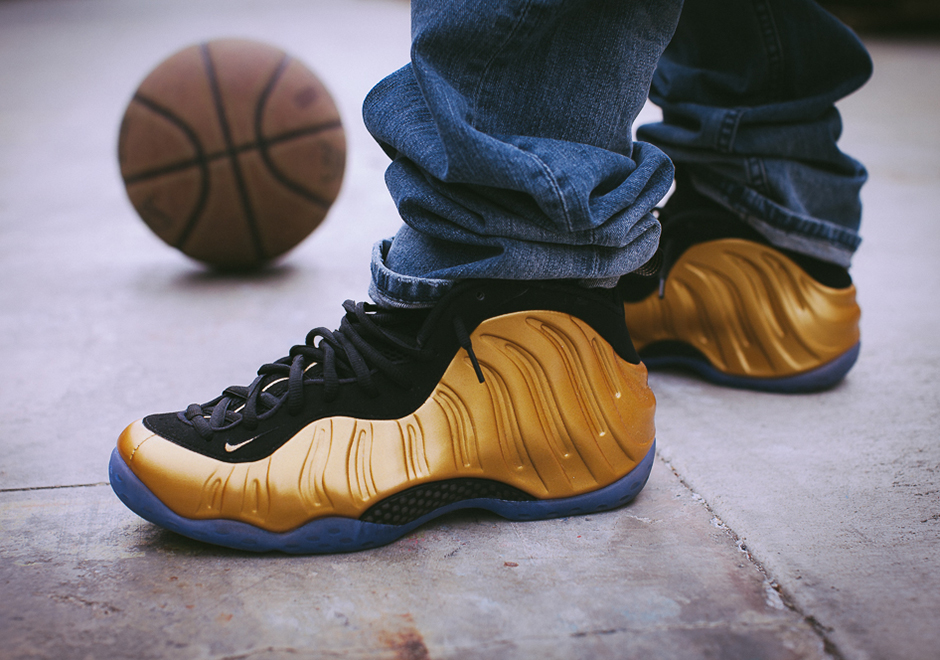 Nike Completes The Medal Trio With Gold Foamposites