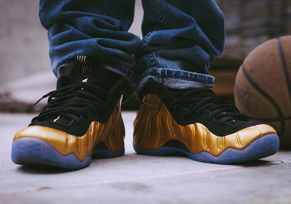 sale retailer d4441 032c8 Nike Completes The Medal Trio With Gold Foamposites ...