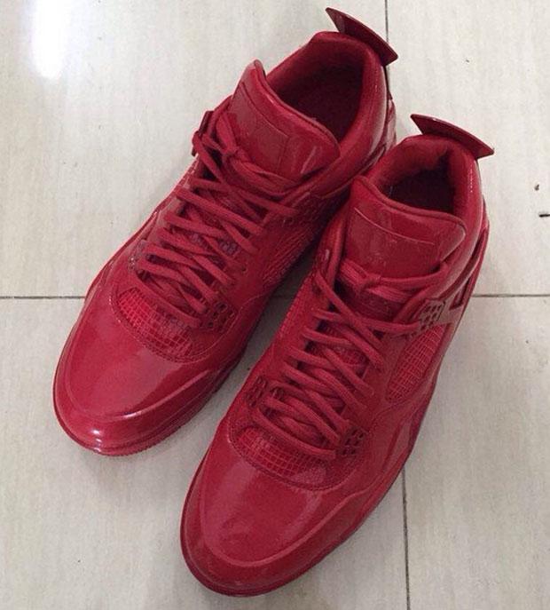Air Jordan 11Lab4 in Red Patent Leather