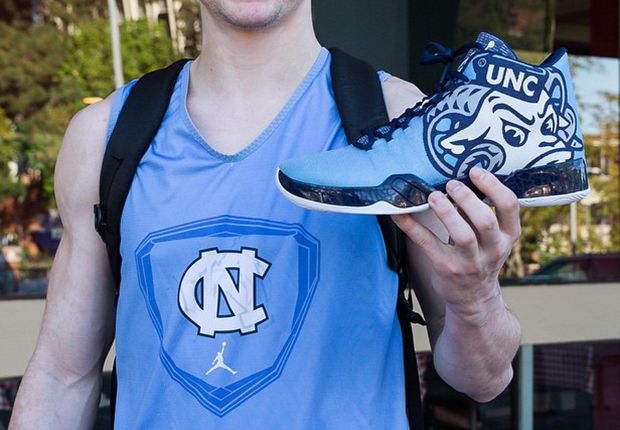 b09402c4cadd5b hot sale 2017 The UNC Tar Heels Will Wear These Incredible Jordans Against  Wisconsin