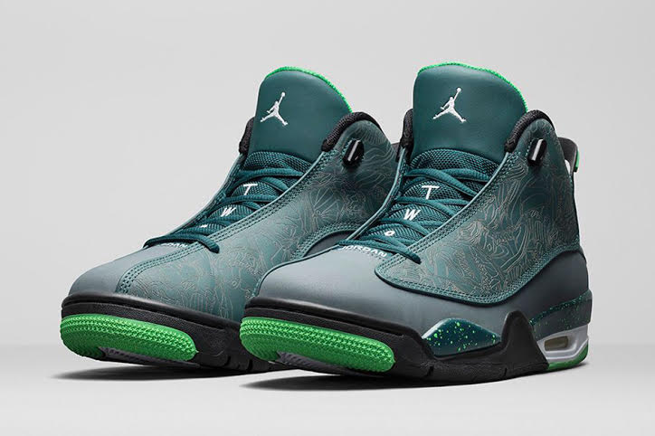 Jordan Dub Zero Teal Blue Graphite Light Green Spark