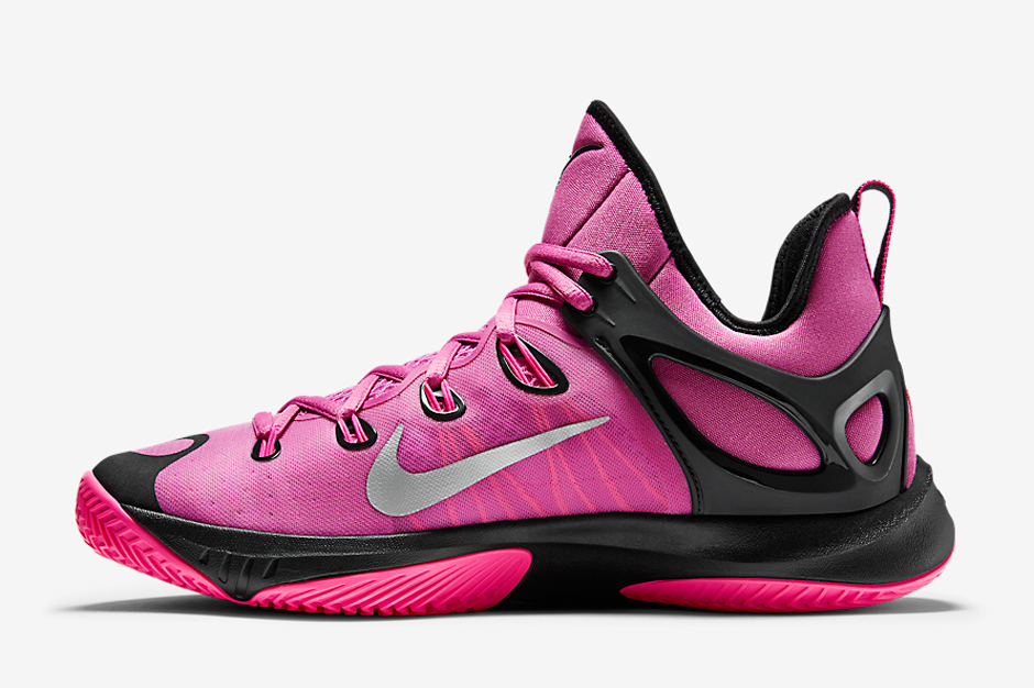competitive price 5ddb7 51a60 ... inexpensive kay yow x nike hyperrev 2015 think pink sneakernews b33ea  6fb8f