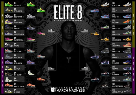 Sneaker News March Madness Nike Kobe Moves To Elite 8 Round, Two #1 Seeds Are Knocked Out