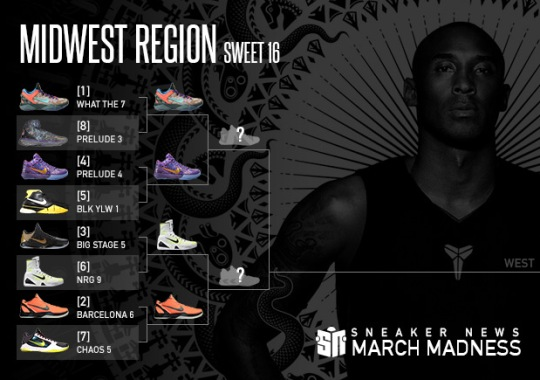Sneaker News March Madness Nike Kobe: Sweet 16 – Midwest