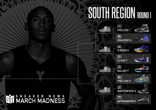 Sneaker News March Madness Nike Kobe: Round 1 – South