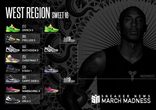 Sneaker News March Madness Nike Kobe: Sweet 16 – West