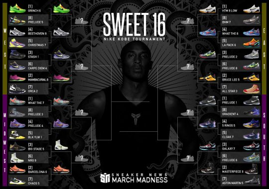 All Four #1 Seeds Advance In Sneaker News March Madness Nike Kobe Tournament