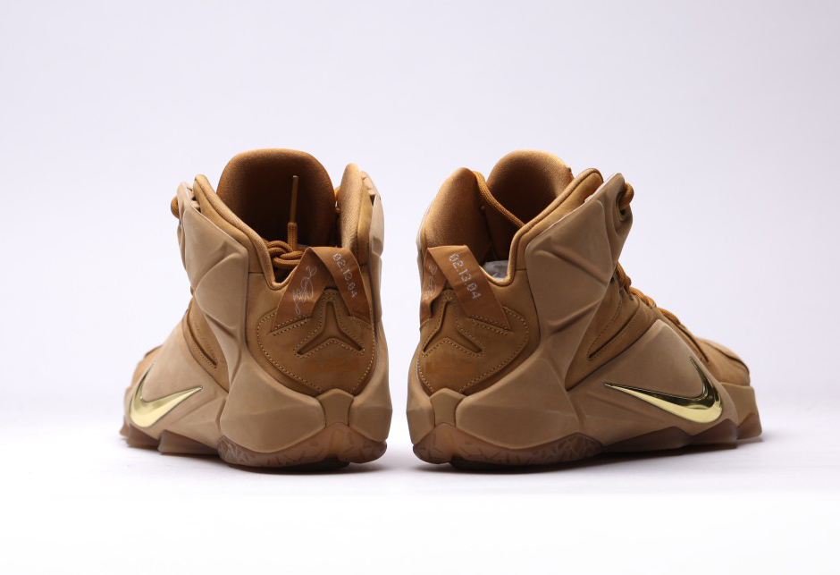 LeBron XII EXT Wheat/Wheat/Metallic Gold