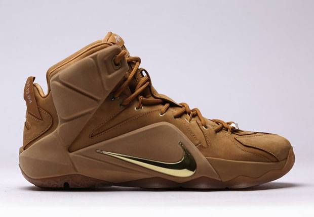 """new concept 972fb 24427 Nike LeBron 12 EXT """"Wheat"""" – Release Date"""