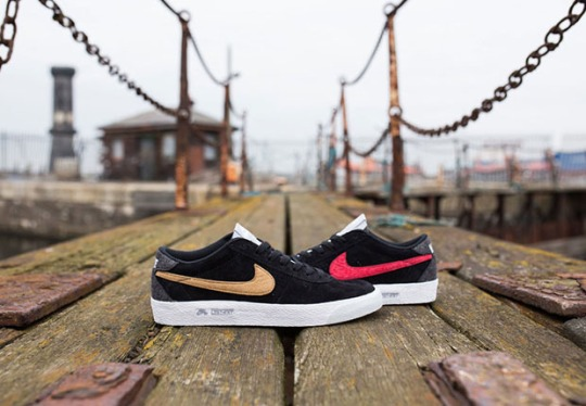 """Lost Art x Nike SB """"The Old and the New of Liverpool City"""""""