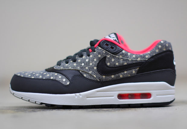 buy popular cf964 42688 Nike Air Max 1 Leather PRM Color  Anthracite Black-Granite Style Code   705282-002. Release Date  03 02 15. Price   120