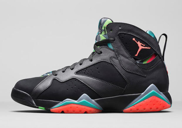 "Air Jordan 7 ""Barcelona Nights"" Color  Black Blue Graphite-Retro-Infrared  23. Style Code  705350-007. Release Date  03 07 15. Price   190 26efa660b"