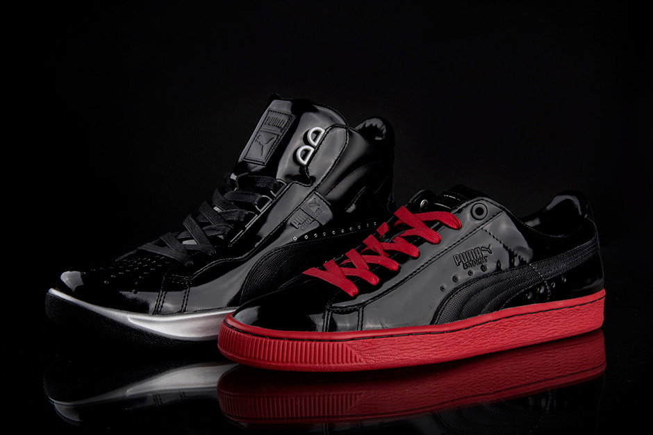 Meek Mill Puma Shoes Black And Red