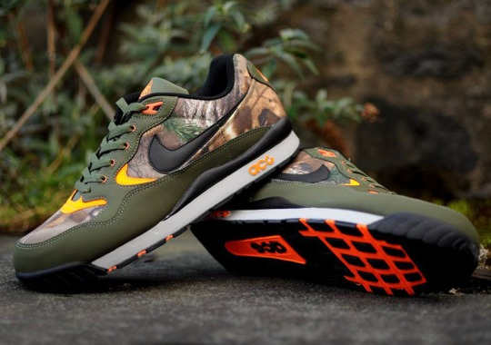 Nike's Most Recognizable Outdoor Sneaker Collaborates With RealTree Camouflage