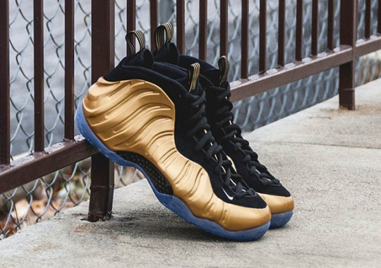 "NIke Air Foamposite One ""Metallic Gold"" – Release Reminder"