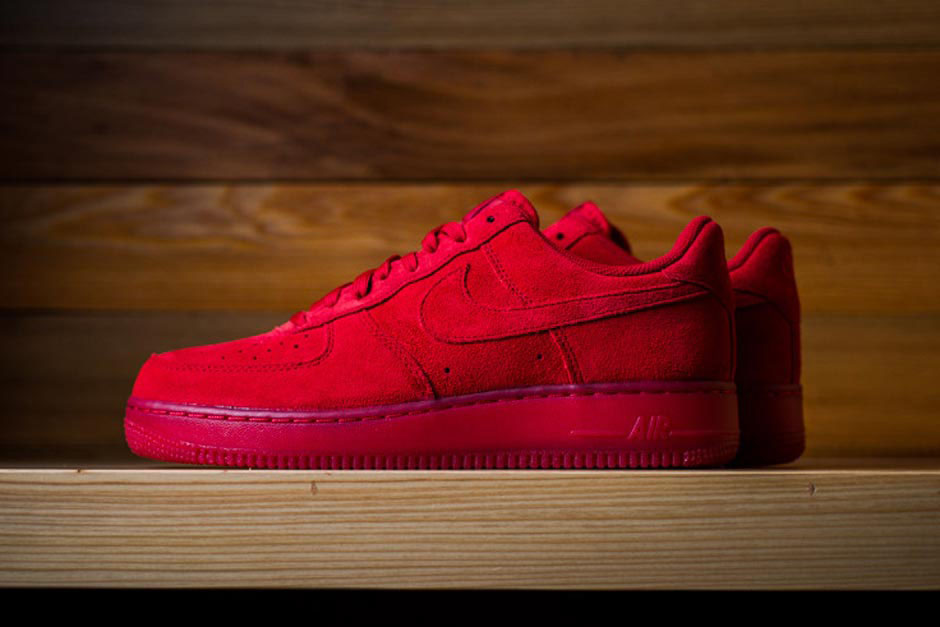 all red air force ones