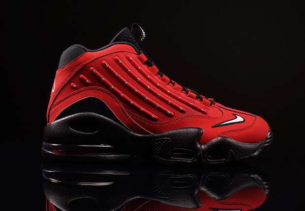 nike air griffey max 2 red and black