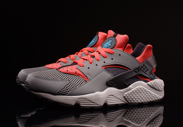 Shopping > nike air huarache grey and red - 60% OFF online
