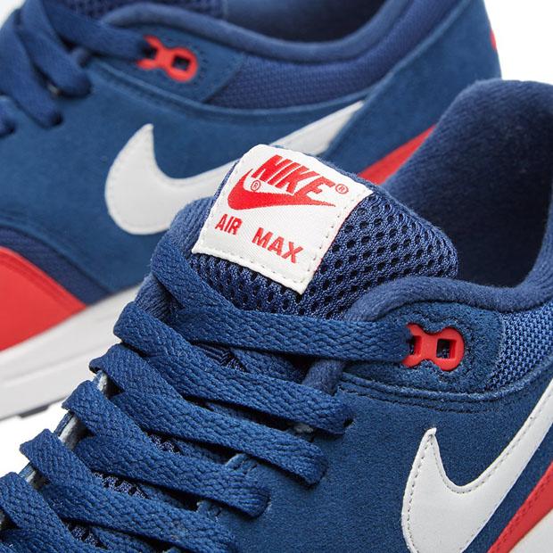 Nike Air Max 1 Essentielle Mi Marine Uni Rouge
