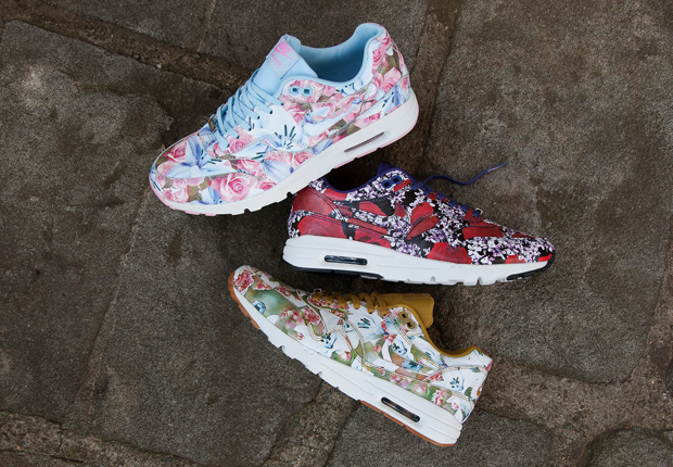 nike air max 1 ultra city floral
