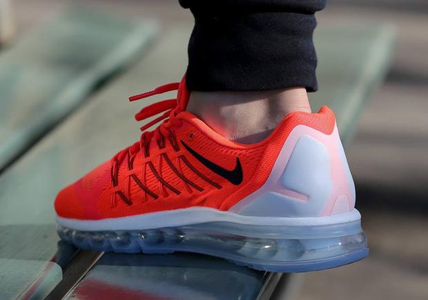 Nike Air Rouge Et Blanc Max 2015