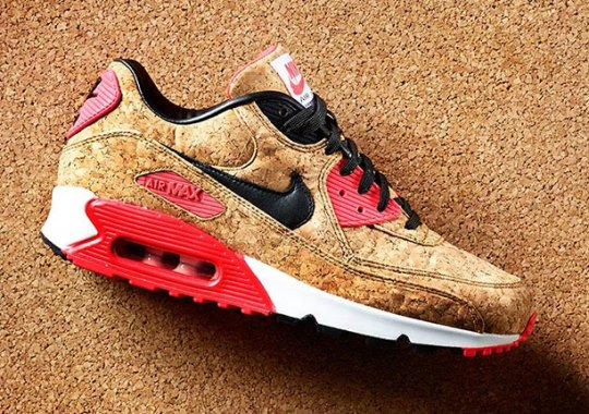 """Nike Celebrates The 25th Anniversary Of Air Max 90 With This """"Cork"""" Release"""