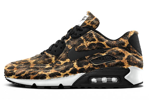 91dc36d10504 Four Animal Print Options Hit The Nike Air Max 90 iD - SneakerNews.com