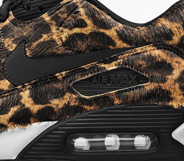 Four Animal Print Options Hit The Nike Air Max 90 iD
