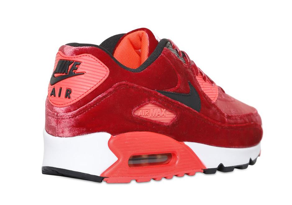 air max 90 red velvet