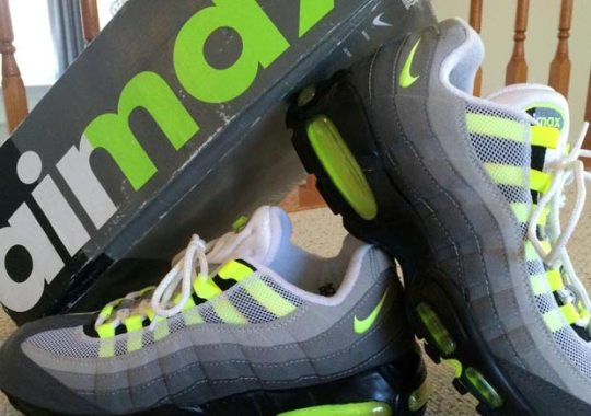 The Box For the Original Air Max 95 is One Of The Best Ever