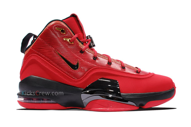 Nike Air Pippen 6. Color: University Red/White-Black Style Code: 705065-610