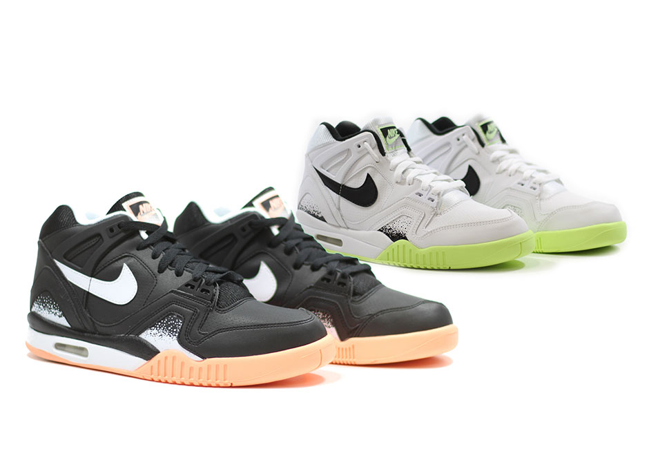 super cute 6c3a2 36bea Nike Brings Back The Air Tech Challenge II in Time For Tennis Season